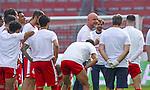 Sport: Fussball: 1. Bundesliga:: nphgm001:  Saison 19/20: 33. Spieltag: 1. FSV Mainz 05 vs SV Werder Bremen 20.06.2020<br />Rouven Schröder Schroeder (M05)  mit seiner Schlussansprache<br /> Foto: Bratic/rscp-photovia/via gumzmedia/nordphoto<br /><br />DFL regulations prohibit any use of photographs as image sequences and/or quasi-video.<br />EDITORIAL USE ONLY.<br />National and international News-Agencies OUT.<br /><br />  DFL REGULATIONS PROHIBIT ANY USE OF PHOTOGRAPHS AS IMAGE SEQUENCES AND OR QUASI VIDEO<br /> EDITORIAL USE ONLY<br /> NATIONAL AND INTERNATIONAL NEWS AGENCIES OUT