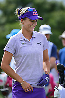 Lexi Thompson (USA) prepares to tee off on 9 during round 2 of  the Volunteers of America Texas Shootout Presented by JTBC, at the Las Colinas Country Club in Irving, Texas, USA. 4/28/2017.<br /> Picture: Golffile | Ken Murray<br /> <br /> <br /> All photo usage must carry mandatory copyright credit (&copy; Golffile | Ken Murray)