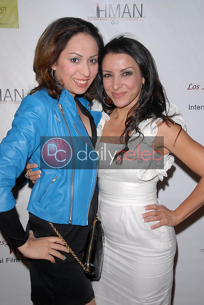 Jenny Leeser and Anastasia Fontaines<br />
