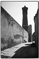 Uzbekistan - Street in Old Khiva.