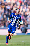 Alexis Ruano Delgado of Deportivo Alaves in action during the La Liga 2017-18 match between Real Madrid and Deportivo Alaves at Santiago Bernabeu Stadium on February 24 2018 in Madrid, Spain. Photo by Diego Souto / Power Sport Images