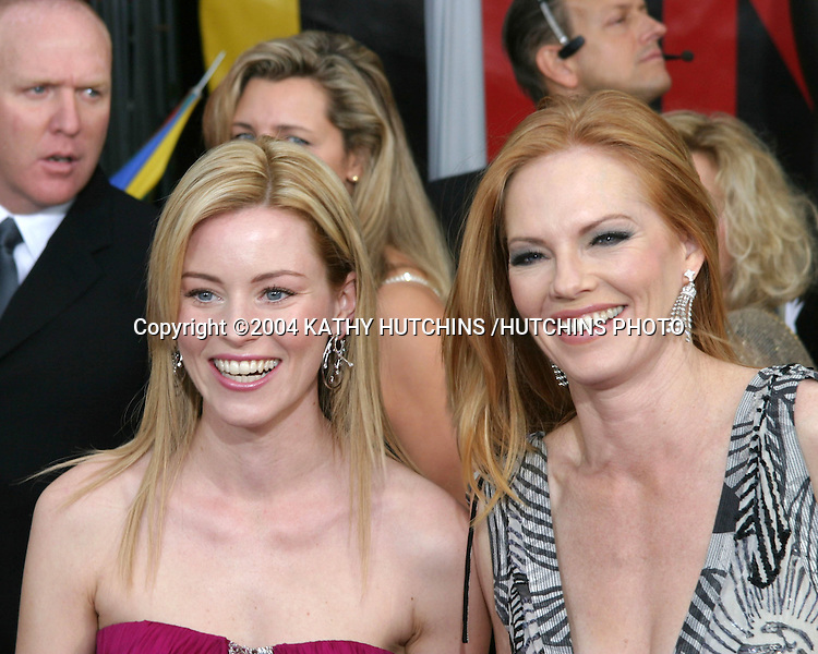 ©2003 KATHY HUTCHINS /HUTCHINS PHOTO.10TH ANNUAL SCREEN ACTORS GUILD AWARDS.SHRINE AUDITORIUM.LOS ANGELES, CA.FEBRUARY 22, 2004..ELIZABETH BANKS.MARG HELGENBERGER
