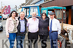 Tim and Eileen Herlihy with Maura, Danny and Michael Healy Rae at the Kilgarvan vintage on Sunday