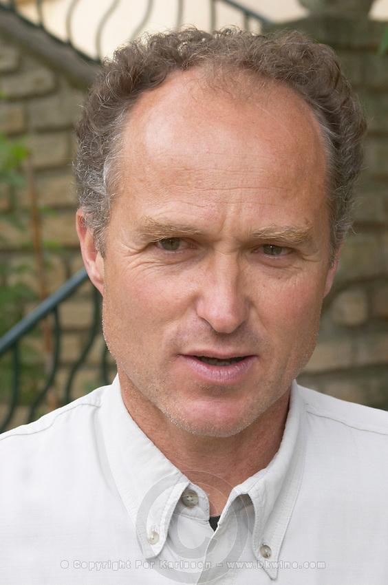 Daniel Brunier co-owner domaine du vieux telegraphe chateauneuf du pape rhone france