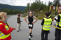 race number 98 - Guido Van Der Werve - Norseman 2012 - Photo by Justin Mckie Justinmckie@hotmail.com