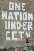 One Nation Under CCTV - Banksy Graffiti in London