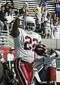 Emmitt Smith during the Cardinals v. Saints football game on October 3, 2004.Cardinals win 34-10..Dilip Vishwanat / SportPics