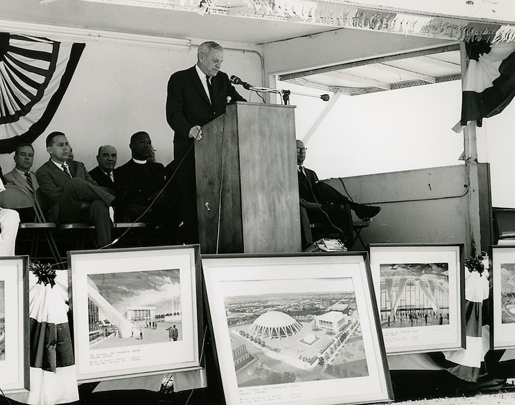 1968 June 06..Redevelopment...Downtown North (R-8)..Scope Cultural and Convention Center Groundbreaking Ceremony..Sam McKay.NEG# ..