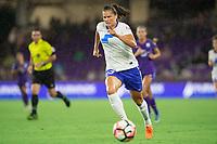 Orlando, FL - Saturday September 02, 2017: Katie Stengel during a regular season National Women's Soccer League (NWSL) match between the Orlando Pride and the Boston Breakers at Orlando City Stadium.