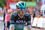 Shane Archbold (NZL) Bora-Hansgrohe crosses the finish line at the end of Stage 4 of La Vuelta 2019 running 175.5km from Cullera to El Puig, Spain. 27th August 2019.<br /> Picture: Eoin Clarke | Cyclefile<br /> <br /> All photos usage must carry mandatory copyright credit (© Cyclefile | Eoin Clarke)