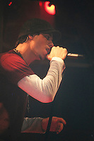 February 12 2004, Montreal (Quebec) CANADA<br /><br />Singer Enrique Iglesias give a TV interview and performance, February 12 2004 in Montreal, CANADA.<br /><br />Mandatory Credit: Photo by Simon Chabot l- Images Distribution. (©) Copyright 2003, Simon Chabot