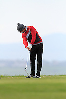 Jonathan Breen (Knock) during round 2 of The West of Ireland Amateur Open in Co. Sligo Golf Club on Saturday 19th April 2014.<br /> Picture:  Thos Caffrey / www.golffile.ie