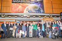 Group photo at a meeting at NASA Headquarters