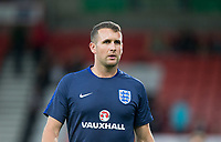 England U21 Goalkeeping Coach Timothy Dittmer ahead of the FIFA World Cup qualifying match between England and Slovakia at Wembley Stadium, London, England on 4 September 2017. Photo by PRiME Media Images.