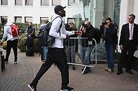 Antonio Rüdiger (Deutschland Germany) - 04.10.2017: Deutschland Teamankunft, Stormont Hotel Belfast