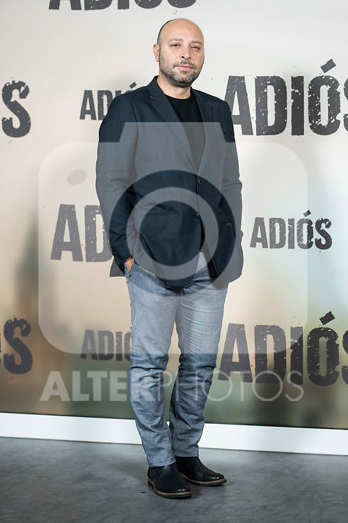 Vicente Romero in the press junction of 'ADIOS', the new work of director Paco Cabezas, which has an undisputed and recognized cast headed by Mario Casas, the two-time winner of Goya Natalia de Molina, and Goya nominees Ruth Diaz and Carlos Bardem.<br /> November 15, 2019. <br /> (ALTERPHOTOS/David Jar)