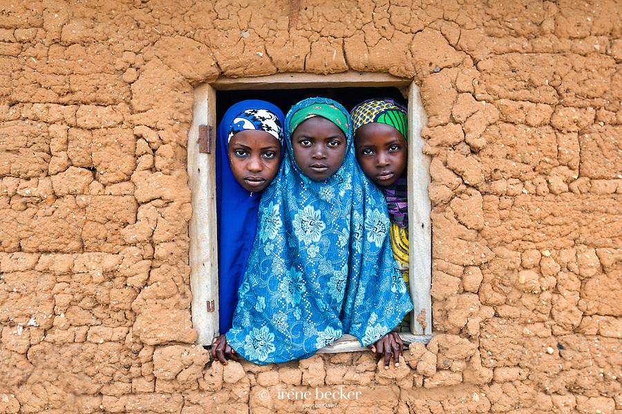 School Girls. Kajuru, Kaduna State, Nigeria.
