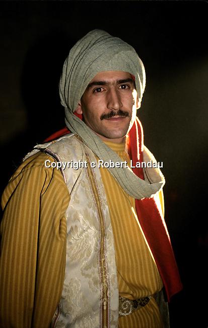 Jordanian man in traditional dress
