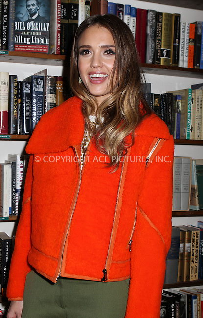 WWW.ACEPIXS.COM....March 12 2013, Huntington NY....Actress Jessica Alba signed copies of her new book 'The Honest Life' at Book Revue on March 12 2013 in Huntington, NY........By Line: Nancy Rivera/ACE Pictures......ACE Pictures, Inc...tel: 646 769 0430..Email: info@acepixs.com..www.acepixs.com