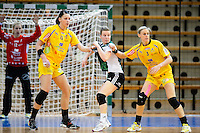 v.l.n.r. Luisa Schulze (HCL), Wiebke Kethorn (VFL), Maura Visser (HCL)
