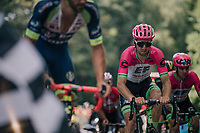 Taylor Phinney (USA/Education First-Drapac) coming up in the grupetto 500 meters from the finish<br /> <br /> Stage 5: Lorient &gt; Quimper (203km)<br /> <br /> 105th Tour de France 2018<br /> &copy;kramon