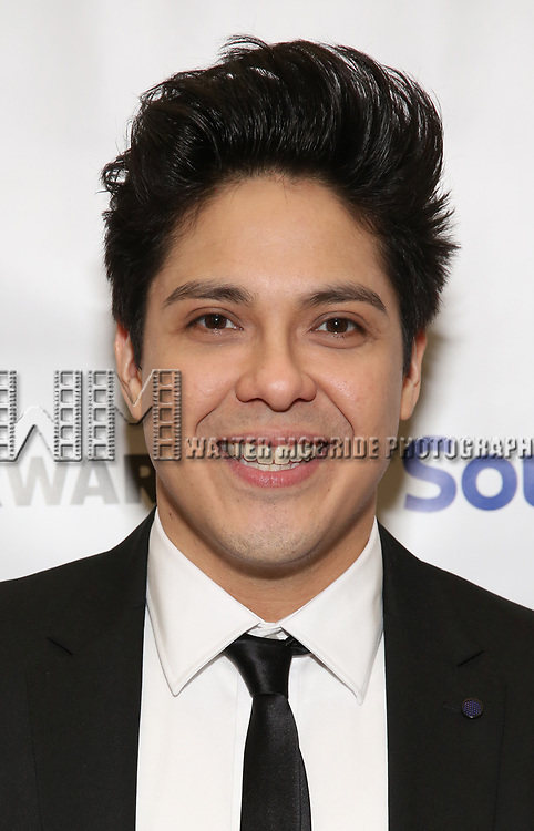 George Salazar during a reception for Theatre Forward's Chairman's Awards Gala at the Pierre Hotel on April 8, 2019 in New York City.