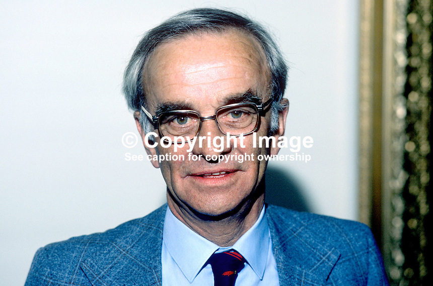 Joe Coggle, councillor, Independent Unionist, Belfast, N Ireland, 19850508JC1..Copyright Image from Victor Patterson, 54 Dorchester Park, Belfast, UK, BT9 6RJ..Tel: +44 28 9066 1296.Mob: +44 7802 353836.Voicemail +44 20 8816 7153.Skype: victorpattersonbelfast.Email: victorpatterson@me.com.Email: victorpatterson@ireland.com (back-up)..IMPORTANT: If you wish to use this image or any other of my images please go to www.victorpatterson.com and click on the Terms & Conditions. Then contact me by email or phone with the reference number(s) of the image(s) concerned.
