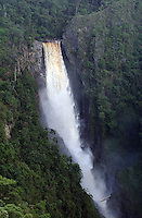 HUILA-COLOMBIA-21-01-2013.Salto de Bordones , Bordones fall ,waterfall Bordones .Photo: VizzorImage/Felipe Caicedo.