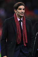 David James on the pitch at half time during the UEFA Euro 2020 Qualifying Group A match between England and Montenegro at Wembley Stadium on November 14th 2019 in London, England. (Photo by Matt Bradshaw/phcimages.com)<br /> Foto PHC Images / Insidefoto <br /> ITALY ONLY