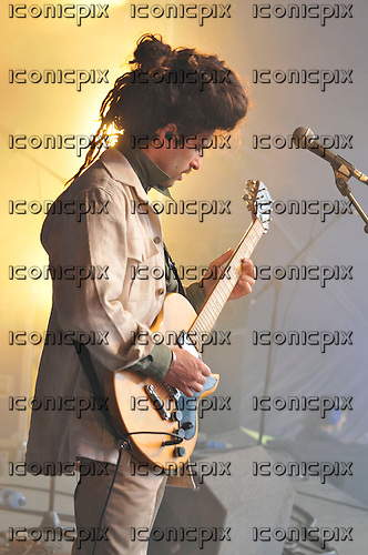 KING CHARLES (real name Charles Costa) - performing live on the main stage on Day Two of the Standon Calling Festival in Hertfordshire UK - 04 Aug 2012.  Photo credit: IconicPix