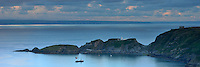 The Landing Bay and South Light, Lundy Island, Devon