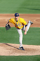 Bryan Harper, College of Southern Nevada, pitching against Gateway Community College at Hohokam Stadium, Mesa, AZ - 02/03/2010..Photo by:  Bill Mitchell/Four Seam Images.