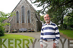 Richard Williams is church warden of St John the Baptist church in Valentia which celebrates 150 years this year.  To date their has been numerous events but a major exhibition of church silver this month is expected to attract visitors from all over to further mark this important historic occasion.