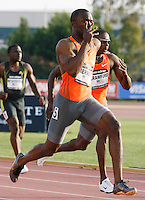 LaShawn Merritt won the 200m with a time of 20.07 at the Adidas Track Classic held at the Home Depot Center , Carson, Ca. on Saturday, May 16, 2009. Photo by Errol Anderson,The Sporting Image.net