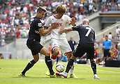 01.08.2015. RheinEnergieStadion, Cologne, Germany.  Colognes Yuya Osako against Stephen Ireland during the Colonia Cup 2015 between  Cologne vs Stoke City FC