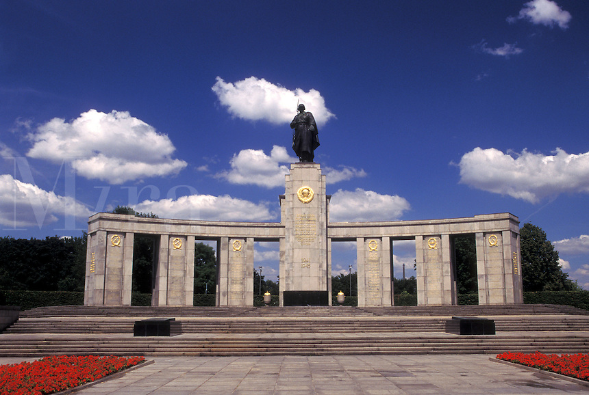 Berlin, Germany, Europe, Soviet War Memorial