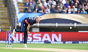 June 10th 2017, Edgbaston, Birmingham, England;  ICC Champions Trophy Cricket, England versus Australia; Ben Stokes of England bowls