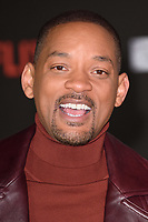 "Will Smith<br /> arriving for the ""Bright"" European premiere at the BFI South Bank, London<br /> <br /> <br /> ©Ash Knotek  D3364  15/12/2017"
