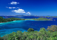 View of Hawksnest Bay and beyond<br />
