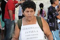 SAO PAULO, SP 05 de julho 2013-  Moradores da Favela do Moinho organizar uma manifestação para cobrar do Poder Público a regularização fundiária e urbanização da comunidade _  ADRIANO LIMA / BRAZIL PHOTO PRESS).