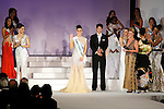 """Miss France Aurianne Sinacola, November 11, 2014, Tokyo, Japan : Miss France Aurianne Sinacola wins the Miss Perfect Body 2014 during """"The 54th Miss International Beauty Pageant 2014"""" on November 11, 2014 in Tokyo, Japan. The pageant brings women from more than 65 countries and regions to Japan to become new """"Beauty goodwill ambassadors"""" and also donates money to underprivileged children around the world thought their """"Mis International Fund"""". (Photo by Rodrigo Reyes Marin/AFLO)"""