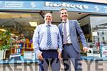 Kevin O'Connor and Damien Cashel outside Radleys Rock St