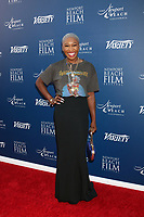 LOS ANGELES - NOV 3:  Cynthia Erivo at the Newport Beach Film Festival Honors Featuring Variety 10 Actors To Watch at The Resort at Pelican Hil on November 3, 2019 in Newport Beach, CA