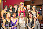 Maria Fusco, Yvonne and Eric Knott, Kathleen McElliggott, Tracey O'Sullivan, Alision Fitzgerald, Kevin McElliggott, Emma Hayes, Luke Ward and Kerry Wellsbury, Daybreak, Kilflynn, who enjoyed their Christmas night out in The Granary on Saturday night.   Copyright Kerry's Eye 2008