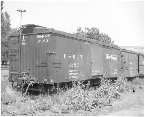 Box car #3382<br /> D&amp;RGW