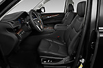 Front seat view of 2020 Cadillac Escalade-ESV Premium-Luxury 5 Door SUV Front Seat  car photos