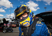 Oct 15, 2016; Ennis, TX, USA; NHRA funny car driver Ron Capps during qualifying for the Fall Nationals at Texas Motorplex. Mandatory Credit: Mark J. Rebilas-USA TODAY Sports