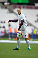 Marko Arnautovic of West Ham during West Ham United vs Everton, Premier League Football at The London Stadium on 13th May 2018