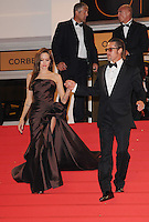 20 September 2016 - Los Angeles, CA - Angelina Jolie Pitt has filed for divorce from Brad Pitt. Jolie Pitt, 41, filed legal docs Monday citing irreconcilable differences. Jolie Pitt requested physical custody of the couple's shared six children – Maddox, Pax, Zahara, Shiloh, Vivienne, and Knox – asking for Pitt to be granted visitation, citing legal documents. File Photo: 16 May 2011 - Cannes, France - 'The Tree of Life' Premiere - 64th Annual Cannes Film Festival held at the Palais des Festival. Photo Credit: Mark Chilton/Richfoto/AdMedia