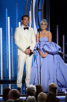 Bradley Cooper and Lady Gaga present at the 76th Annual Golden Globe Awards at the Beverly Hilton in Beverly Hills, CA on Sunday, January 6, 2019.<br /> *Editorial Use Only*<br /> CAP/PLF/HFPA<br /> Image supplied by Capital Pictures